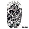 Image of Removable & Waterproof TRIBAL Temporary Tattoo-Large Sheet 21cmx15cm