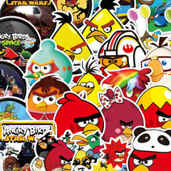 "100 PCS ""Angry Birds"" Stickers"