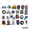 "Image of 50 PCS ""Bicycle"" Vinyl Sticker Pack"