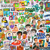 "Image of 100 PCS ""Big Bang Theory"" Vinyl Sticker Pack"