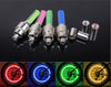 Image of Bicycle Bike Wheel Tire Valve Cap LED Light (Pack of 4)- FREE + Shipping
