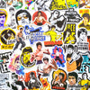 "Image of 50 PCS ""Bruce Lee"" Vinyl Sticker Pack"