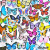 "Image of 50 PCS ""Butterfly"" Vinyl Sticker Pack"