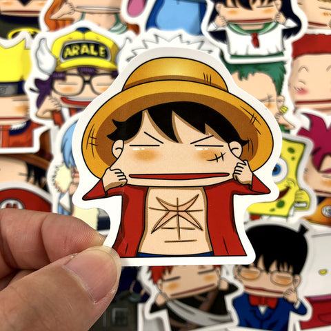 "20 PCS ""Pulling Cheeks"" Stickers"