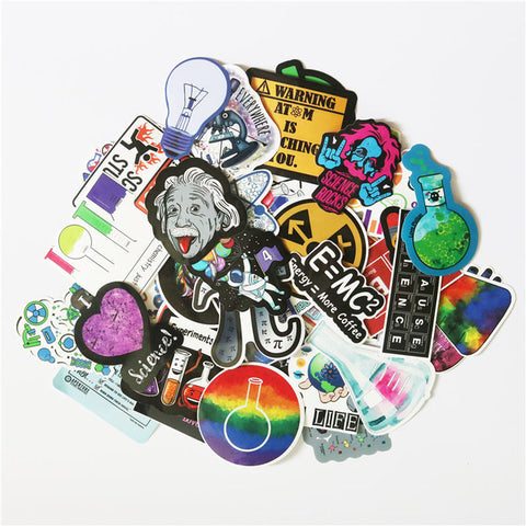 "50 PCS ""Science"" Stickers"