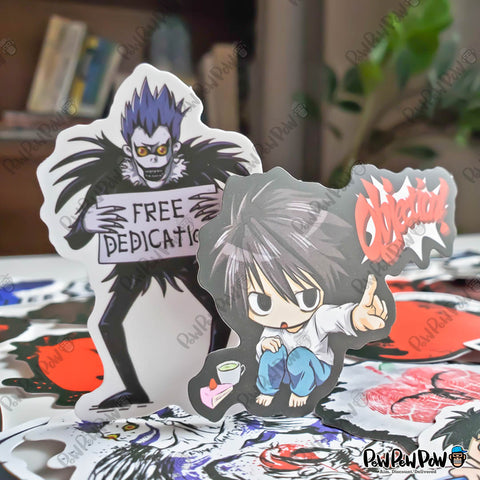 "50 PCS ""Death Note"" Vinyl Anime Stickers"
