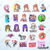 "Image of 50 PCS ""Doki Doki Literature Club"" Anime Sticker Pack"