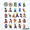 "Image of 100 PCS ""Dragon Ball Z"" Anime Sticker Pack"