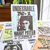 "Image of 25 PCS ""Harry Potter Wanted Posters"" Vinyl Sticker Pack"