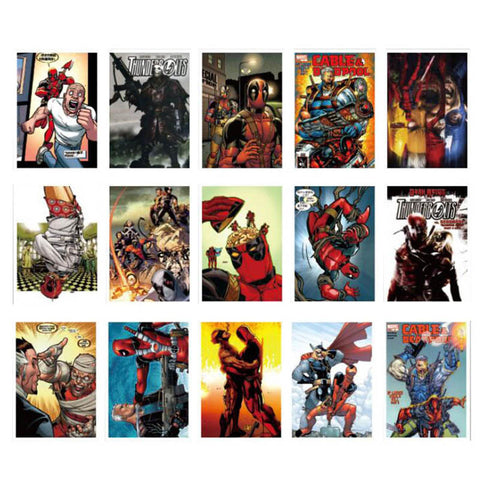 "40 PCS ""Deadpool"" Waterproof Stickers"
