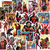 "Image of 40 PCS ""Deadpool"" Waterproof Stickers"