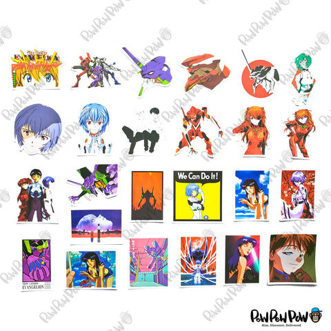 "50 PCS ""Evangelion"" Vinyl Stickers"