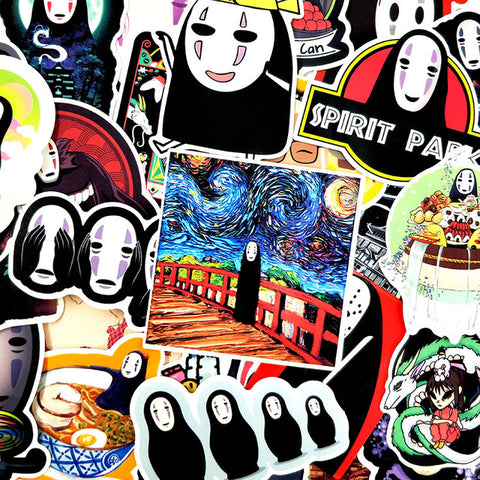 "40 PCS ""Faceless"" Stickers"