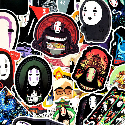 "50 PCS ""Faceless"" Stickers-SALE"