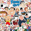 "Image of 50 PCS ""Family Guy"" Stickers-SALE"