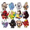 "Image of 32 PCS ""Chubby Heroes"" Waterproof Stickers"