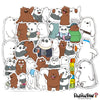 "Image of 35 PCS ""Bare Bears"" Waterproof Stickers-SALE"