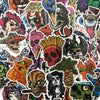 "Image of 100 PCS ""The Horror"" Theme Waterproof Stickers"
