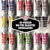 Image of No-Tie Elastic Silicone Shoelaces (16pcs/set)