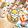 "Image of 50 PCS ""Fox"" Vinyl Sticker Pack"
