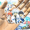 "Image of 50 PCS ""Gintama"" Vinyl Anime Stickers"