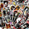"Image of 50 PCS ""Gothic Thriller"" theme Stickers"