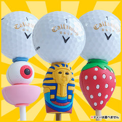 Humor Gag Golf Tee - Box of 20 Random Tees