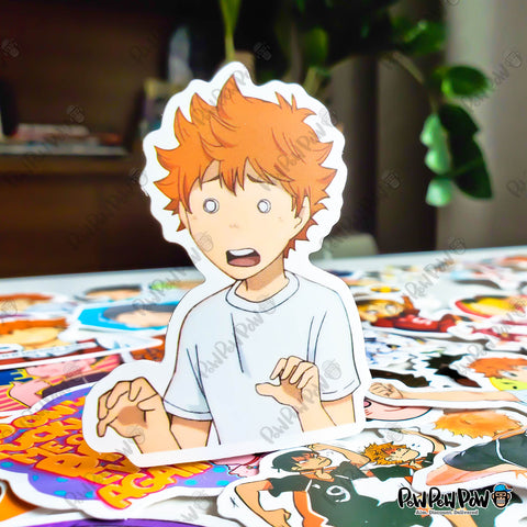 "50 PCS ""Haikyu!! Set A"" Vinyl Sticker Pack"