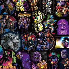 "100 PCS ""Infinity War"" theme Stickers"