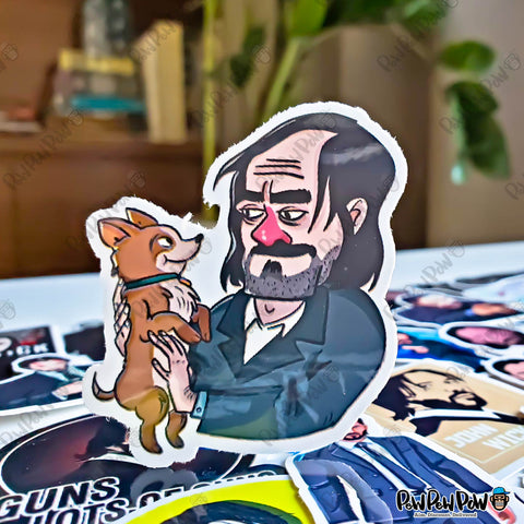 "34 PCS ""John Wick"" Vinyl Sticker Pack"