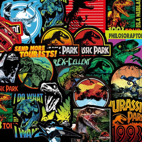 "70 PCS ""Jurassic"" theme Stickers"