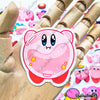 "Image of 50 PCS ""Kirby"" Vinyl Stickers"