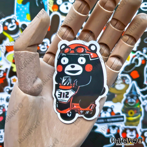 "50 PCS ""Kumamon"" Vinyl Stickers"