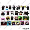 "Image of 50 PCS ""Kumamon"" Vinyl Stickers"