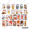 "Image of 50 PCS ""Lucky Cat"" Vinyl Sticker Pack"