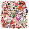 "Image of 50 PCS ""Merry Xmas"" Stickers"
