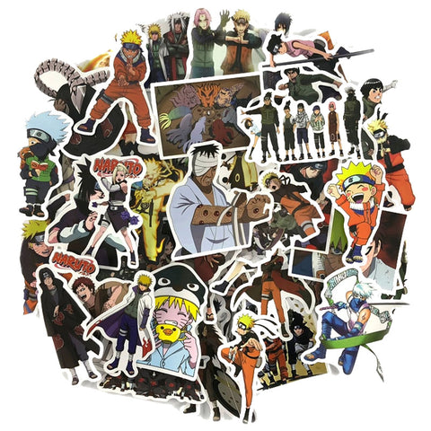"100 PCS ""Naruto"" Waterproof Stickers-SALE"