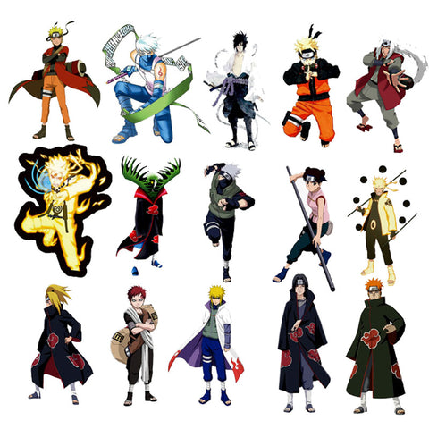 "100 PCS ""Naruto"" Waterproof Stickers"