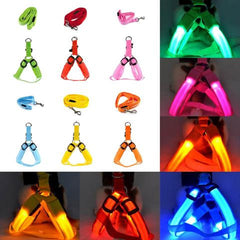 Ultra Bright LED Dog Safety Harness- 6 Colors