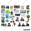 "Image of 50 PCS ""The Office"" TV Vinyl Stickers"