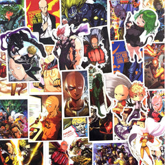 "35 PCS ""One Punch Man"" Waterproof Stickers"