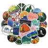 "Image of 50 PCS ""Outdoor Travel"" Stickers"