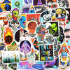 "Image of 50 PCS ""Alien UFO"" theme Stickers"