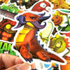 "Image of 50 PCS ""Plants vs Zombies"" Stickers"