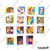 "Image of 50 PCS ""Pop Art"" Vinyl Stickers"