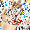 "Image of 50 PCS ""Popeye"" Vinyl Stickers"