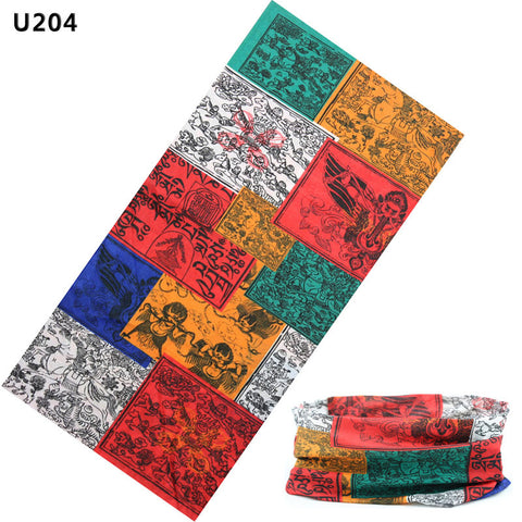12-in-1 Outdoor Multi-Functional Sports Magic Scarf- MixMatch Series4