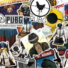 "25 PCS ""PUBG"" theme Waterproof Stickers"