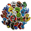 "Image of 19 PCS ""Santa Cruz"" Waterproof Stickers-SALE"