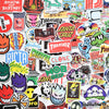 "Image of 100 PCS ""Skateboard"" Brand Stickers"